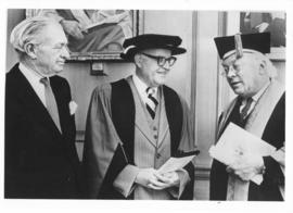 Photograph of Donald MacInnis, Donald MacLeod, and Henry Hicks