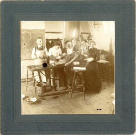 Photograph of Halifax Medical College Anatomy Lab