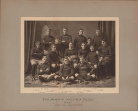 Photograph of Dalhousie Second Team, 1903, Draw for Championship - Football