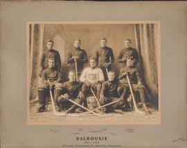 Photograph of Dalhousie Hockey Team - College Champion of Maritime Provinces