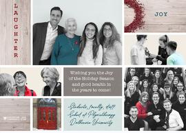 Christmas card from the Dalhousie University School of Physiotherapy