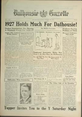 Dalhousie Gazette, Volume 59, Issue 10