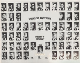 Composite photograph of the Faculty of Medicine - Class of 1970