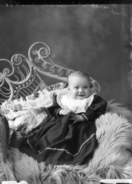 Photograph of Ronald McInnis' baby