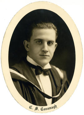 Portrait of Charles Stewart Cavanagh : Class of 1929