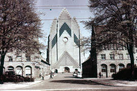 Photograph of Grundtvig's Church, Copenhagen