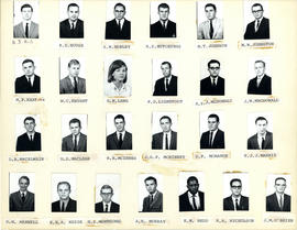 Composite Photograph of Faculty of Medicine First Year Class 1964-1965 - Hill to O'Brien