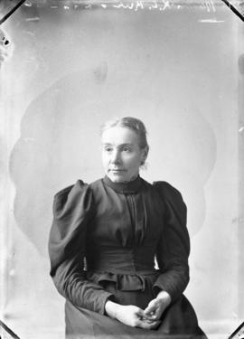 Photograph of Mrs. R. D. Rice