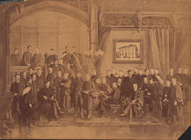 Photograph of unknown McGill Medical School Graduating Class