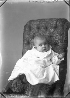 Photograph of Mrs. P. A. McGregor's baby