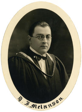 Portrait of Herbert Joseph Melanson : Class of 1926