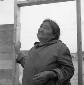 Portrait of Alicie Berthé in Fort Chimo, Quebec