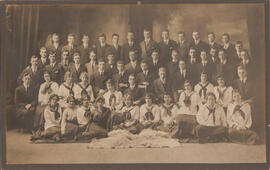 Photograph of Class of 1919 Freshman Year