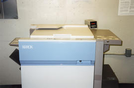 Photograph of a Xerox machine in the Photocopy Room at the Killam Memorial Library, Dalhousie Uni...