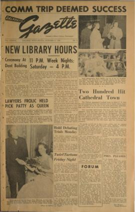 Dalhousie Gazette, Volume 89, Issue 5