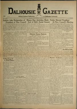 Dalhousie Gazette, Volume 67, Issue 20