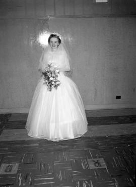 Photograph of Mrs. Wright on her wedding day