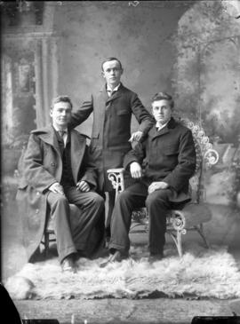 Photograph of Messrs. Cameron, Ross, and Flockart