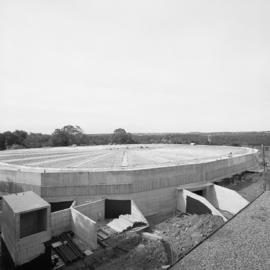 Photograph of Dalplex during construction