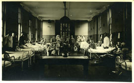 Patients in the hospital ward