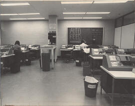 Photograph of computer centre in the Killam Memorial Library