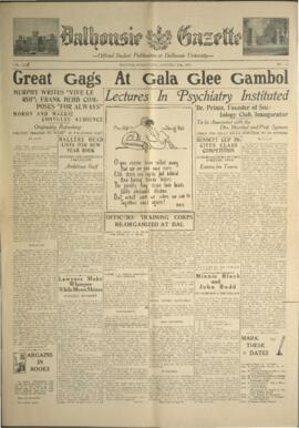 Dalhousie Gazette, Volume 61, Issue 12