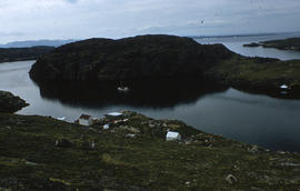Photograph of a cove in Port Burwell, Northwest Territories