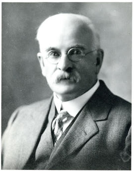 Portrait of Dr. J.J. Cameron