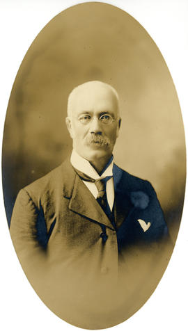 Portrait of Norman Frederick Cunningham