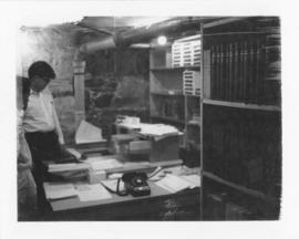 Photograph of the photocopy service in the basement of the Medical-Dental Library