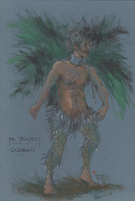 Costume design for Caliban