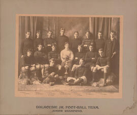 Photograph of Dalhousie Jr. Foot-ball Team - Junior Champions
