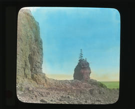 Photograph of unidentified cliffs