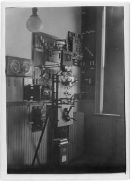 Photograph of the power board in Summerside Prince Edward Island