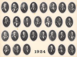 Composite Photograph of the Faculty of Medicine - Class of 1924
