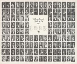 Composite photograph of the Dalhousie University Faculty of Law class of 1981