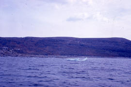 Photograph of a small iceberg near Emily Harbour, Newfoundland and Labrador