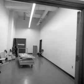 Photograph of the Dalhousie Art Gallery storage area