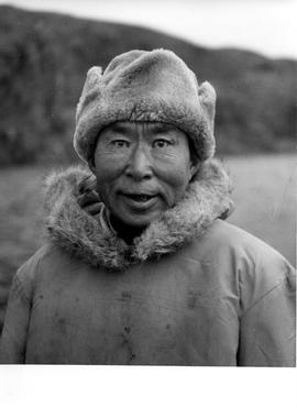 Photographs of a man named Spyglassee in Frobisher Bay, Northwest Territories
