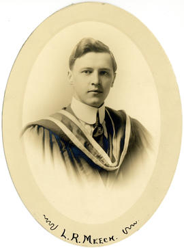 Portrait of Lloyd Remington Meech : Class of 1915