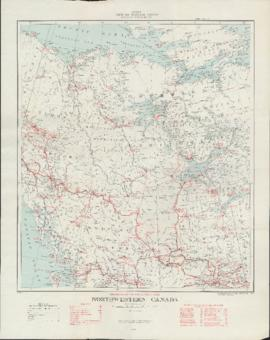 Canada Mines and Technical Surveys: Transportation Facilities - 1958: Northwestern Canada