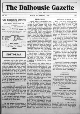 The Dalhousie Gazette, Volume 54, Issue 5