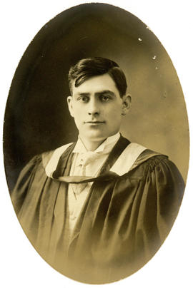 Portrait of Daniel Angus McAulay : Class of 1910