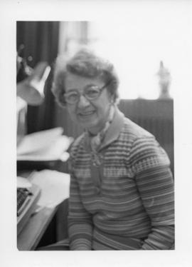 Photograph of Alice Moore