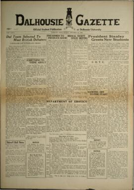 Dalhousie Gazette, Volume 67, Issue 2