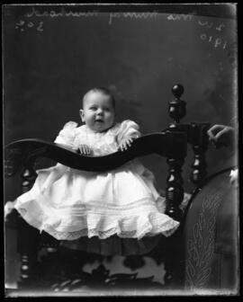 Photograph of the baby of Mrs. Murray Muirhead