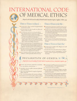 International Code of Medical Ethics