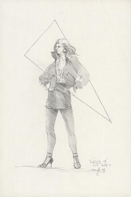 Costume design for Lin : Act II