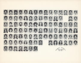 Composite photograph of the Faculty of Medicine - Fourth Year Class, 1980-1981