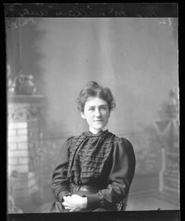 Photograph of Mrs. McMillan